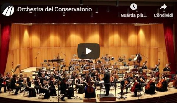 Orchestra del Conservatorio: Samuel Barber Concerto in la minore op. 22 - George Gershwin:  Porgy and Bess